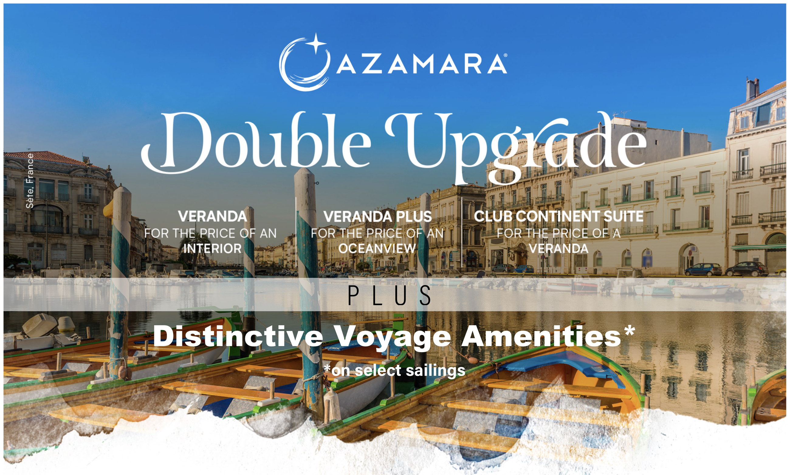Azamara Double Upgrade